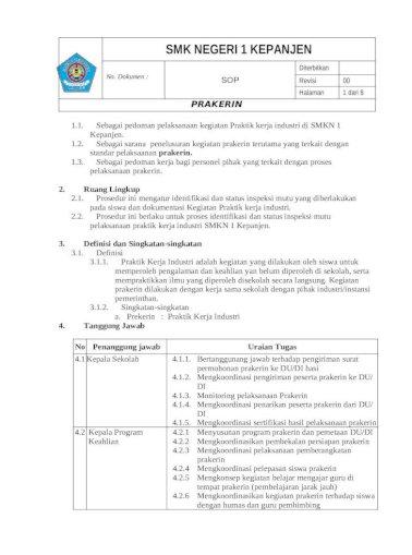 Web Viewundangan Rapat Notulen Daftar Hadir Penyiapan Surat Permohonan Prakerin Panduan Surat Doc Document