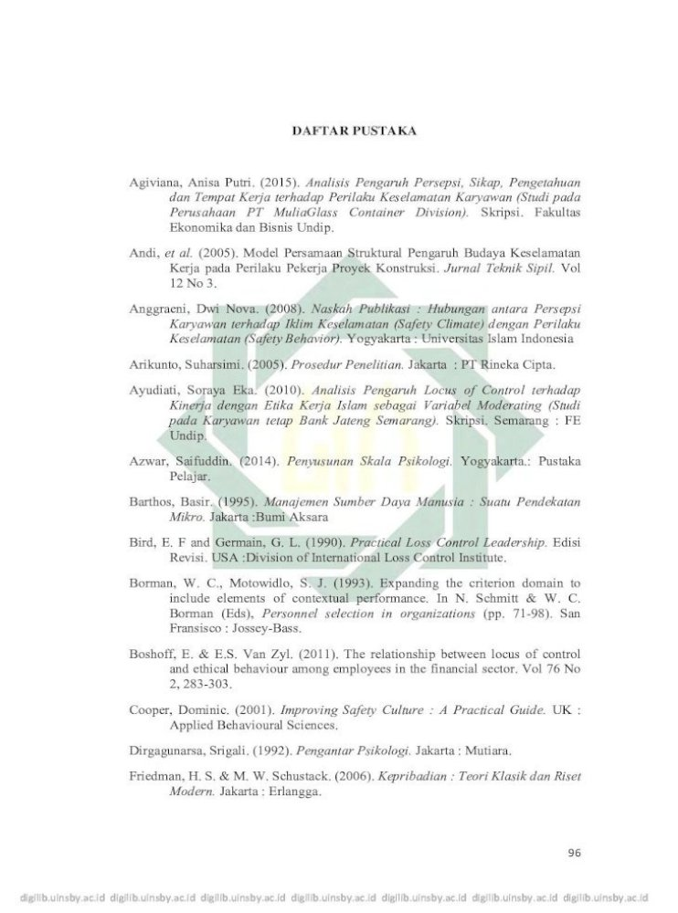 Daftar Pustaka Pustaka Pdf Wardani Dwi Kusuma 2013 Pengaruh