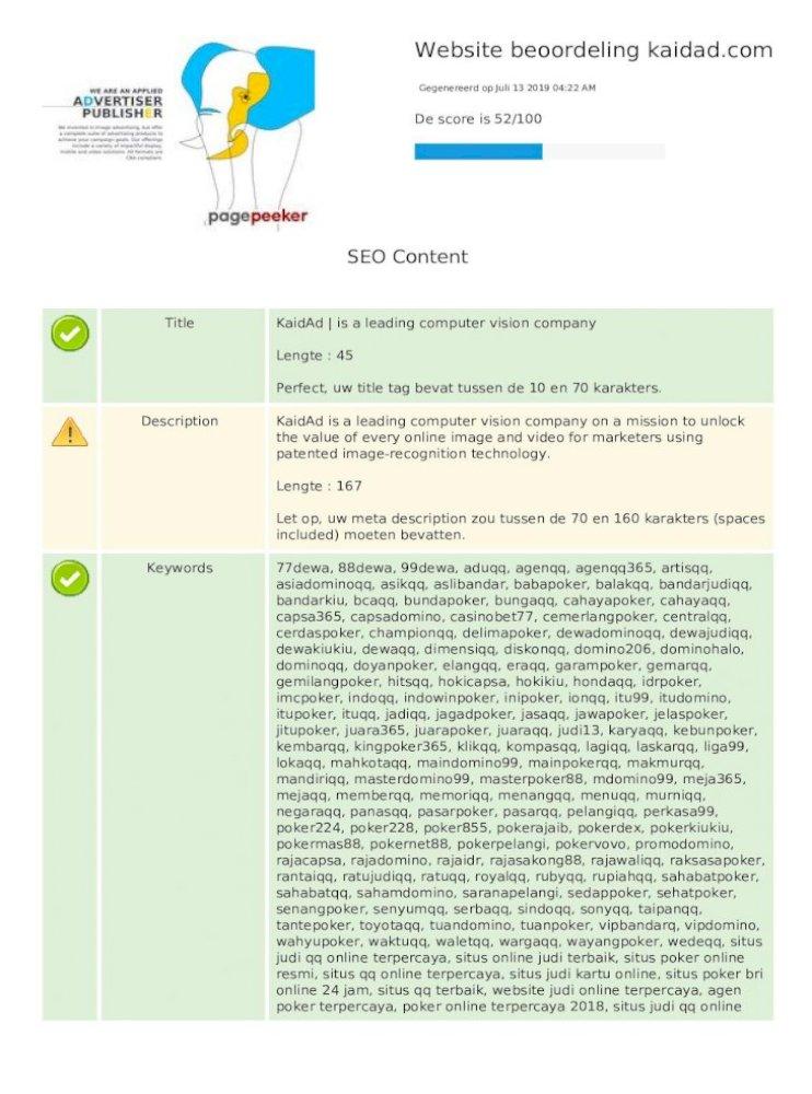 Website Beoordeling Kaidad Resmi Situs Qq Online Terpercaya Situs Judi Kartu Online Situs Poker Pdf Document