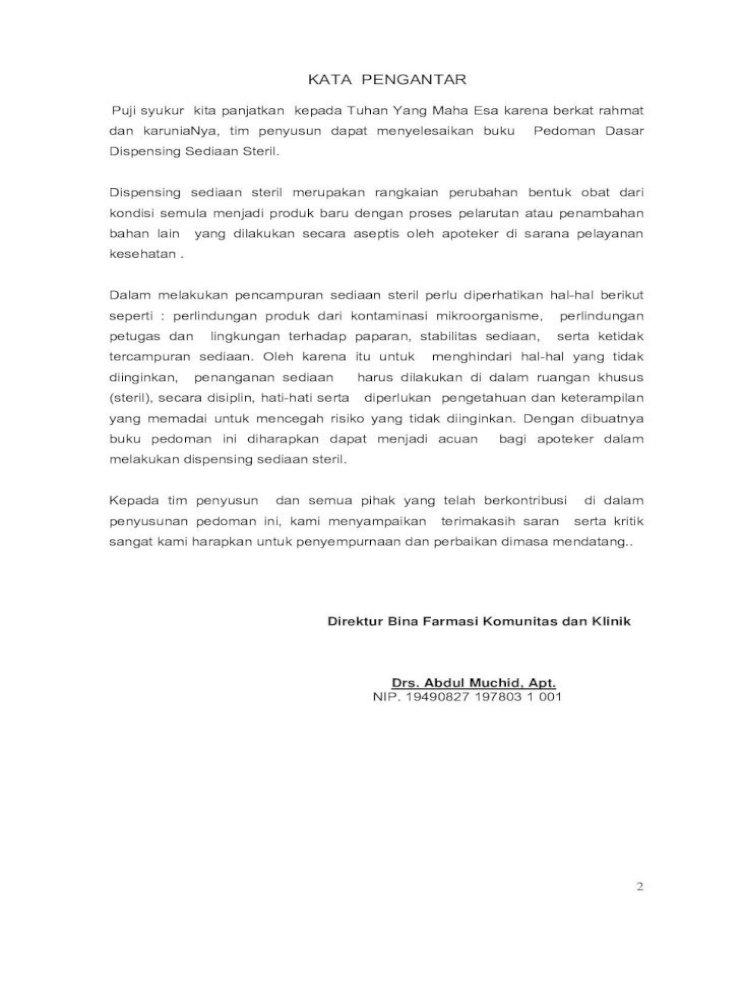 Draf Cetak Pedoman Dasar Teknik Aseptis Instalasi Farmasi Rumah Sakit Harus Melaksanakan Pelayanan Kefarmasian Pharmaceutical Care Yang Meliputi Pelayanan Farmasi Non Klinik Pdf Document