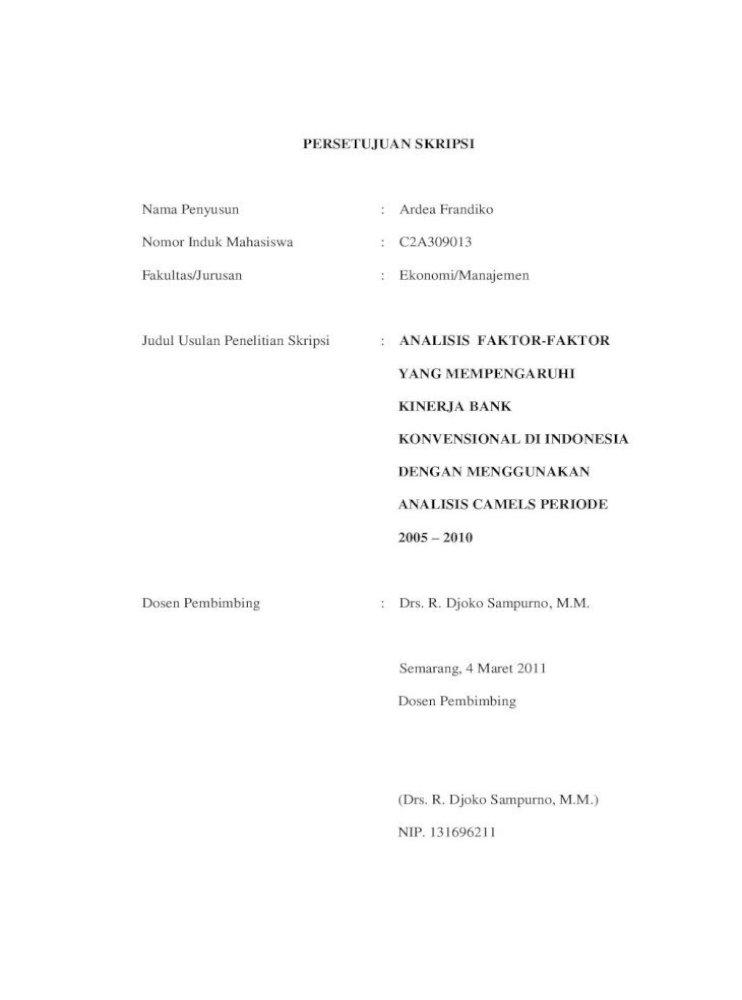 Analisis Faktor Faktor Yang Mempengaruhi Bank Negara Indonesia Bni Bank Central Asia Bca Dan Pdf Document