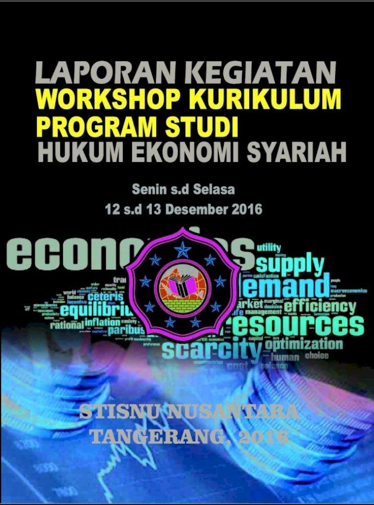 Cover Laporan Workshop Laporan Kegiatan Workshop Kurikulum Program Studi Hukum Ekonomi Syariah Pdf Document
