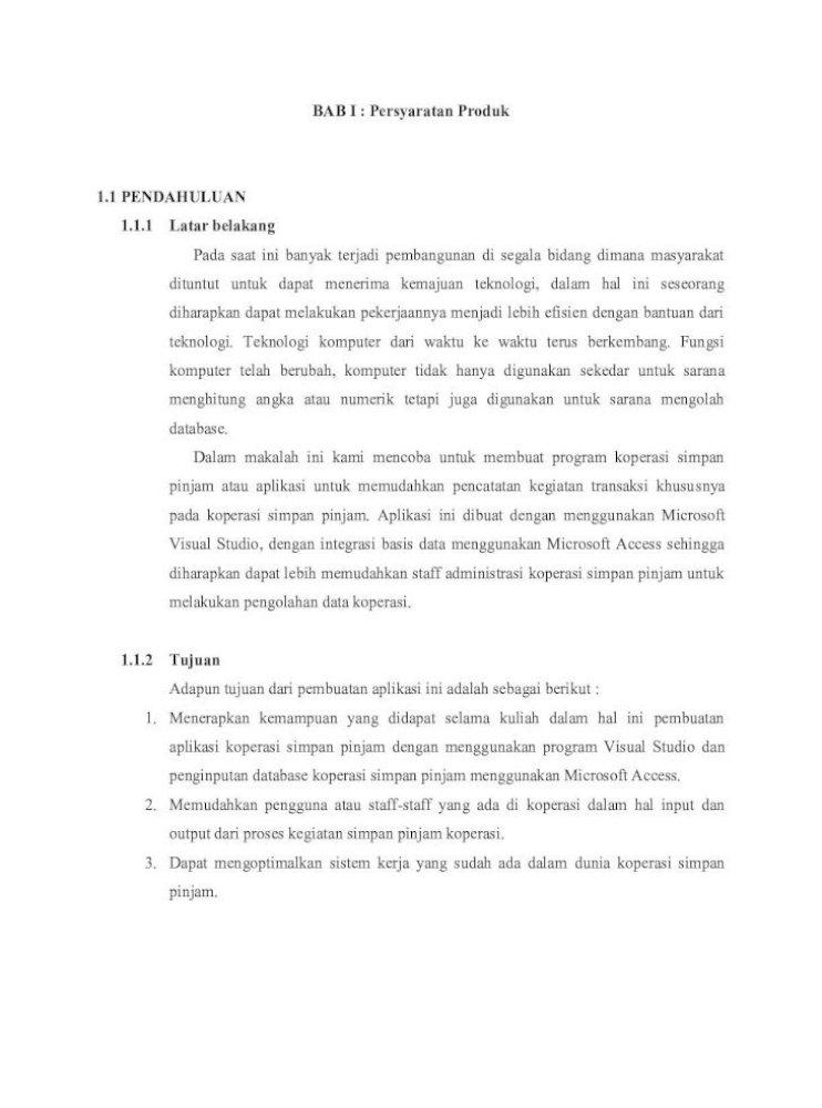 Laporan Tugas Akhir Rekayasa Perangkat Lunak 2 1 Persyaratan Antar Muka Eksternal Sistem Operasi Pdf Document
