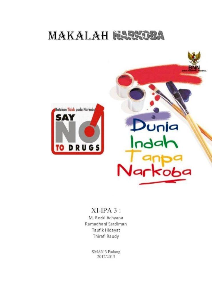 B Indonesia Makalah Tentang Narkoba Pdf Document