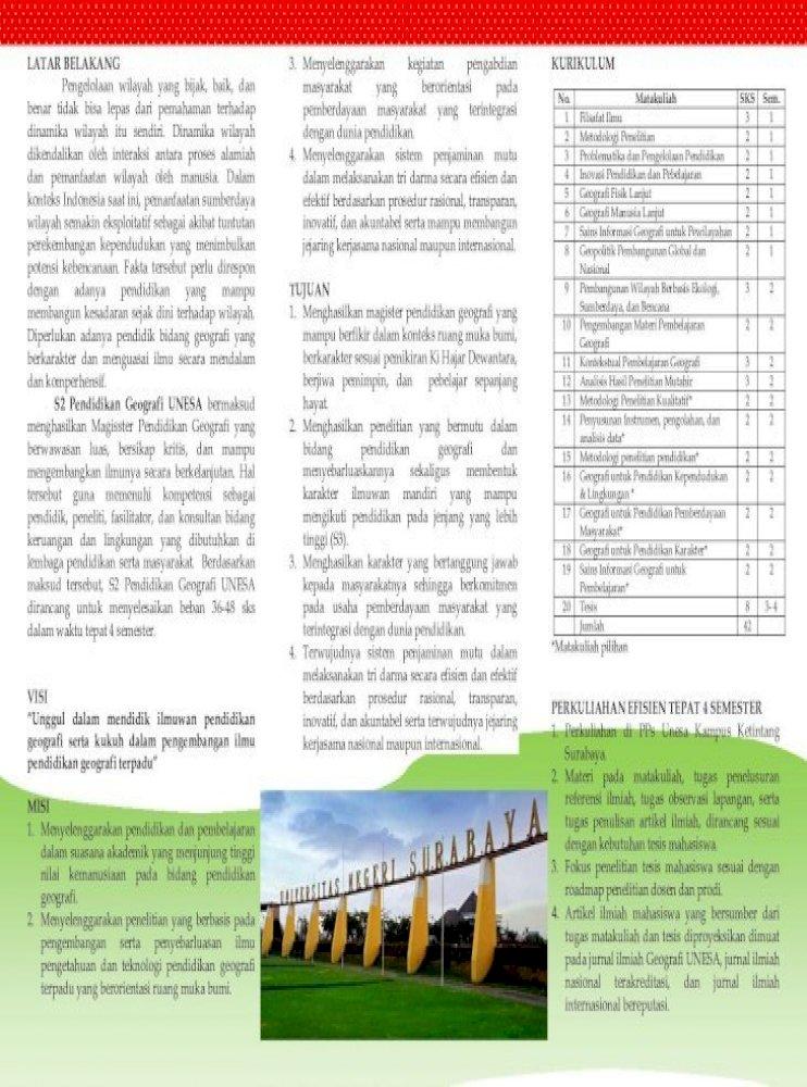 6 Di Pps Unesa Kampus Ketintang Surabaya 2 Materi Pada Matakuliah Tugas Penelusuran Referensi Ilmiah Tugas Observasi Lapangan Serta Tugas Penulisan Artikel Ilmiah Dirancang Pdf Document