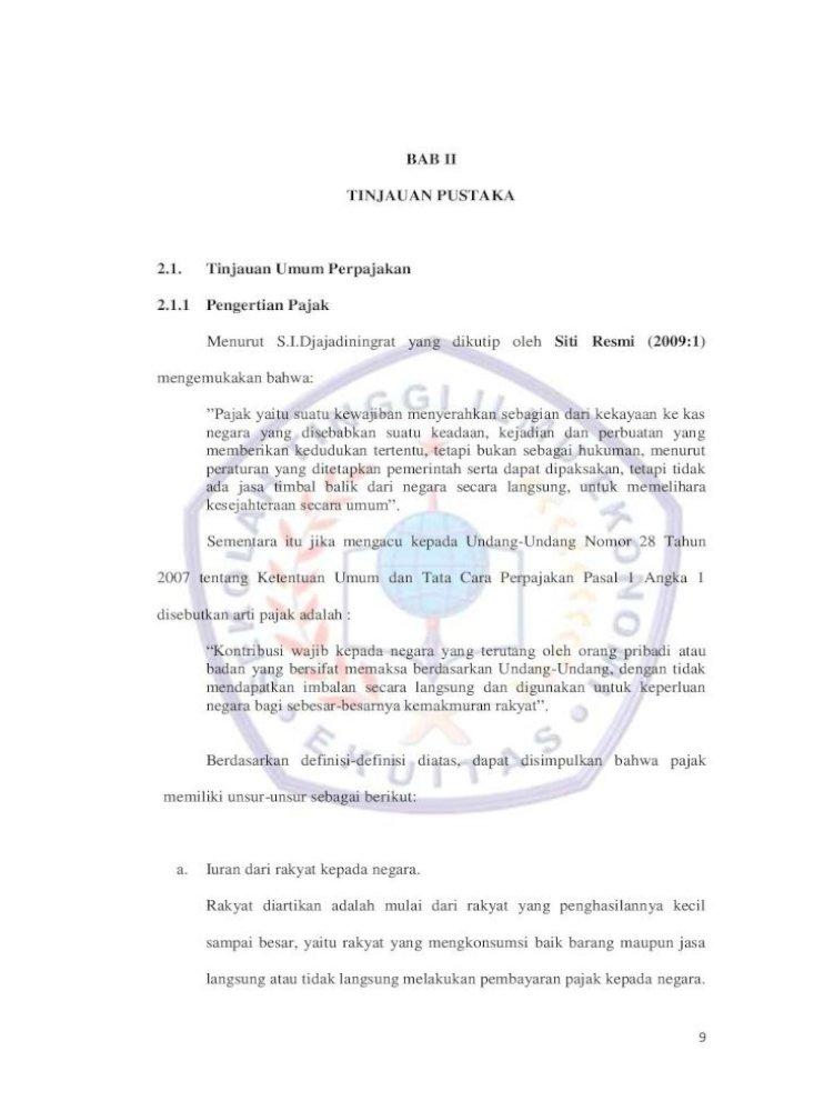 Pelaksanaan Penelitian Dan Pemeriksaan Spt Tahunan Pph Badan Pdf Document