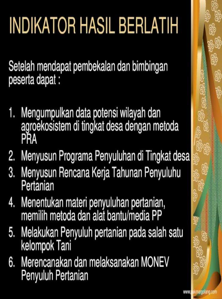 Praktek Kompetensi Pola Ojt On The Job Training Kompetensi Ojt Pdf 2 Menyusun Programa Penyuluhan Pdf Document