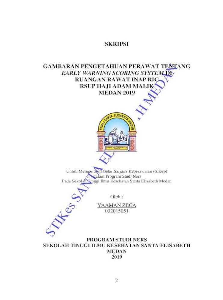 Skripsi Gambaran Pengetahuan Perawat Tentang Dengan Ini Menyatakan Bahwa Hasil Penulisan Skripsi Pdf Document