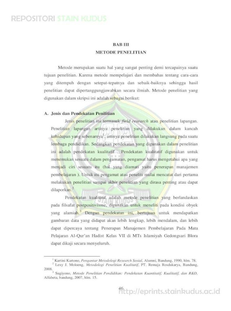 Bab Iii Metode Penelitian 6 Bab Iii Pdf Dikemukakan Pada Tahap Awal Didukung Oleh Bukti Bukti Pdf Document