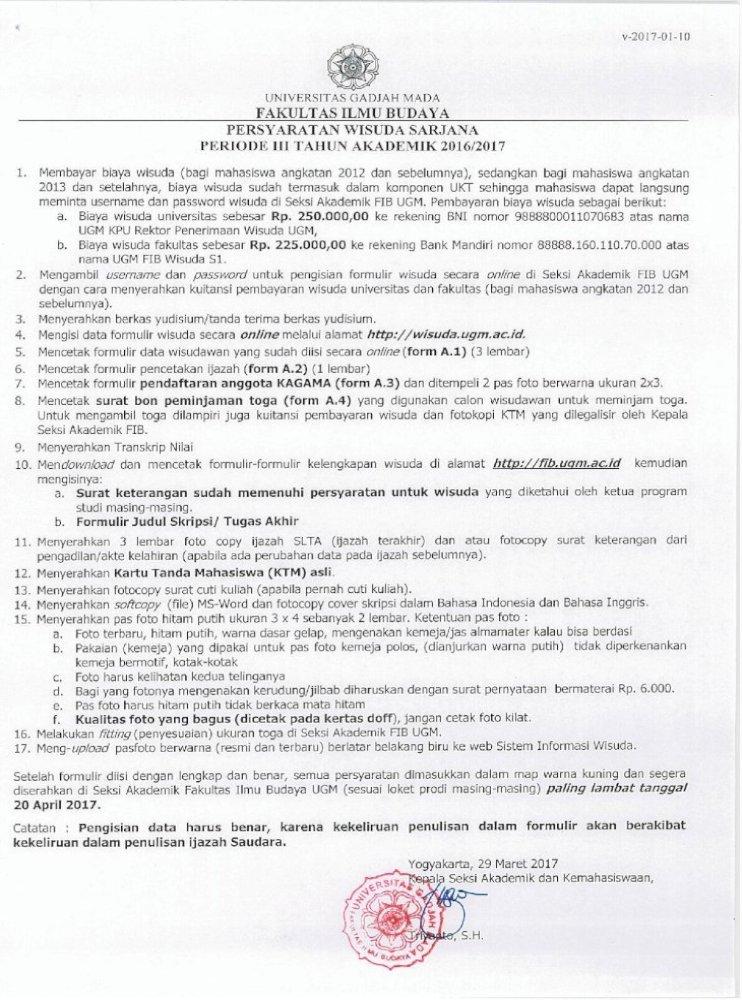 V 2017 01 10 Fib Ugm Ac Idfib Ugm Ac Id Main Wp Content Uploads 2017 03 Form Keterangan Yang Bertanda Pdf Document