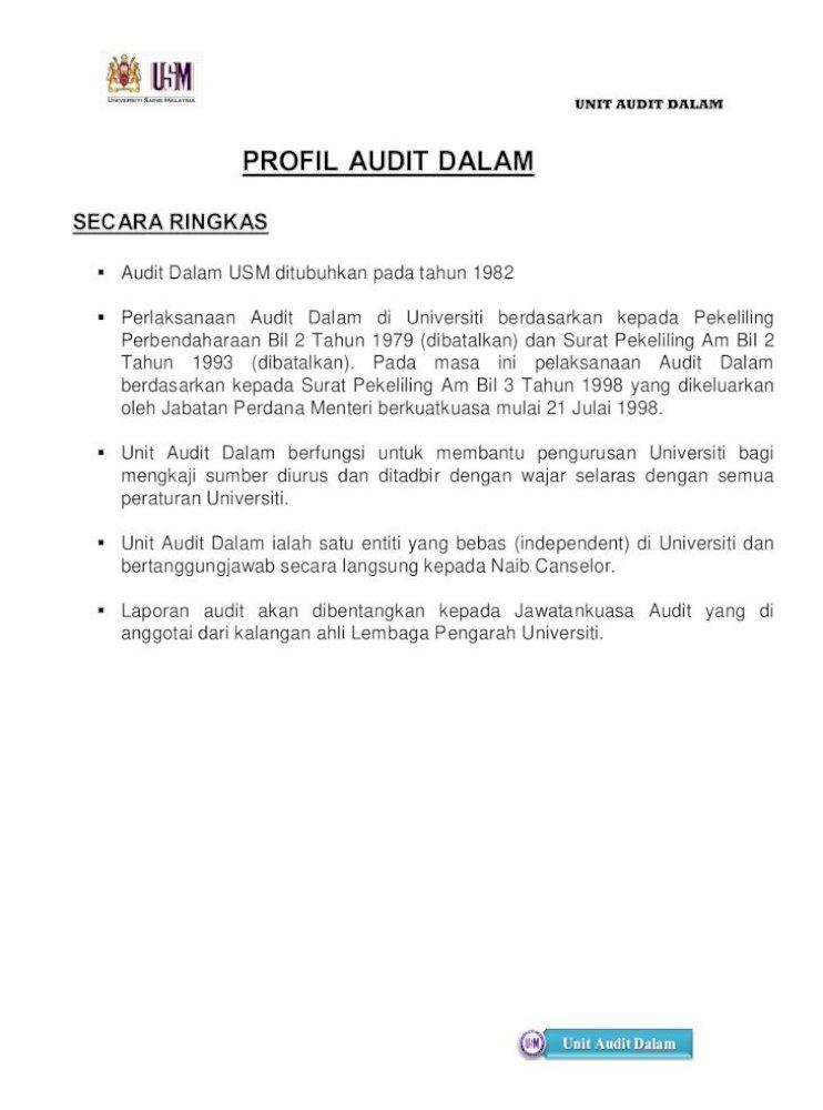Profil Audit Dalam Selaras Dengan Perubahan Ikhtisas Yang Berlaku Dalam Bidang Perakaunan Bagi Pdf Document