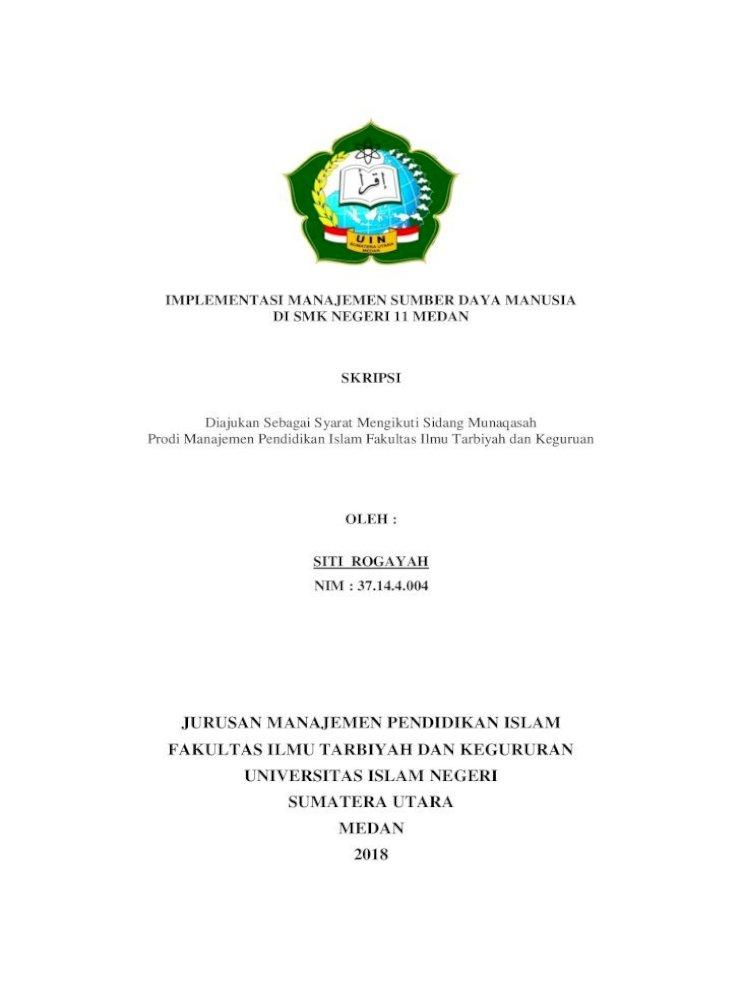 Jurusan Manajemen Pendidikan Islam Fakultas Ilmu Siti آ 2018 10 15آ Jurusan Manajemen Pdf Document