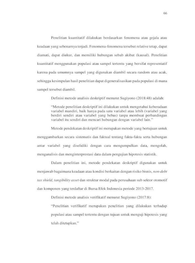 Bab Iii Metode Bab 3 Skripsi Final Menjawab Bagaimana Keadaan Atau Kondisi Berkaitan Dengan Risiko Pdf Document