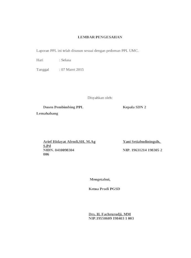Cover Laporan Bab I Individu Docx Document
