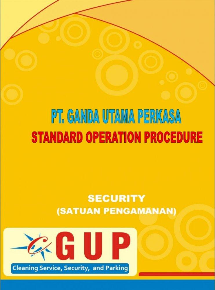 Sop Security Gup Pdf Document