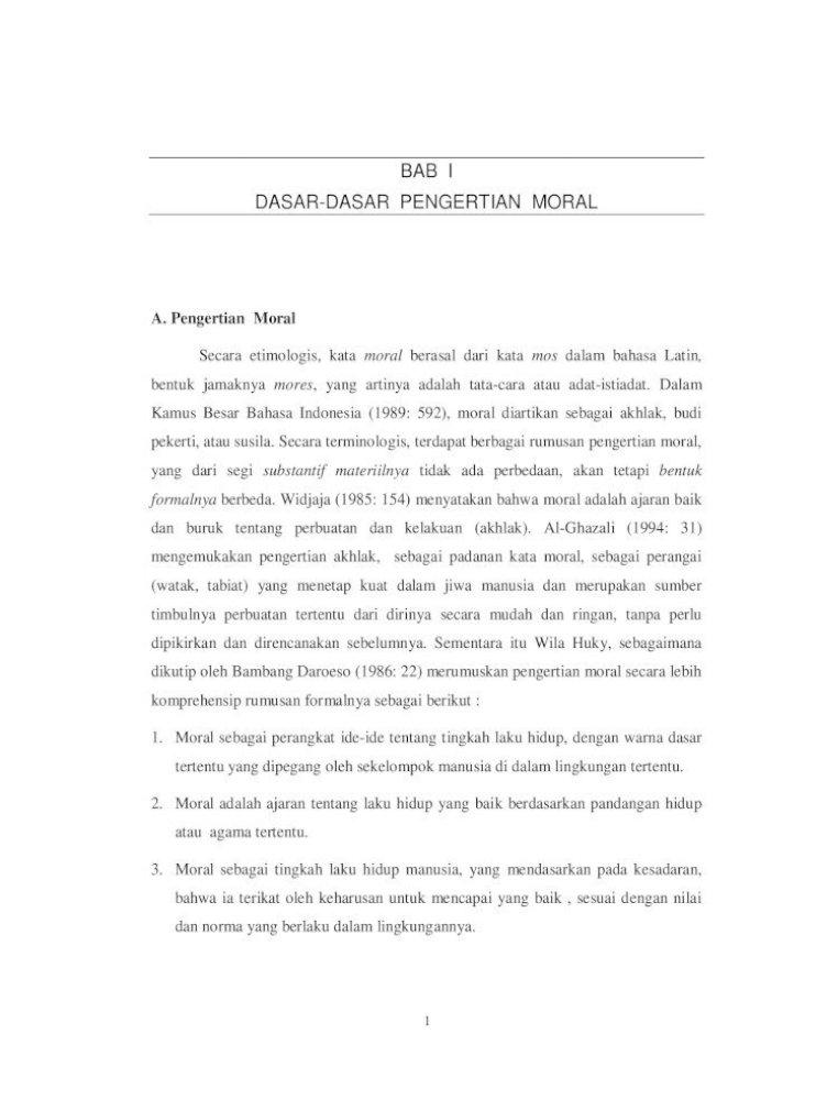 Arti Kata Moral Adalah   Our Presentation Ppt Download   spencezeth