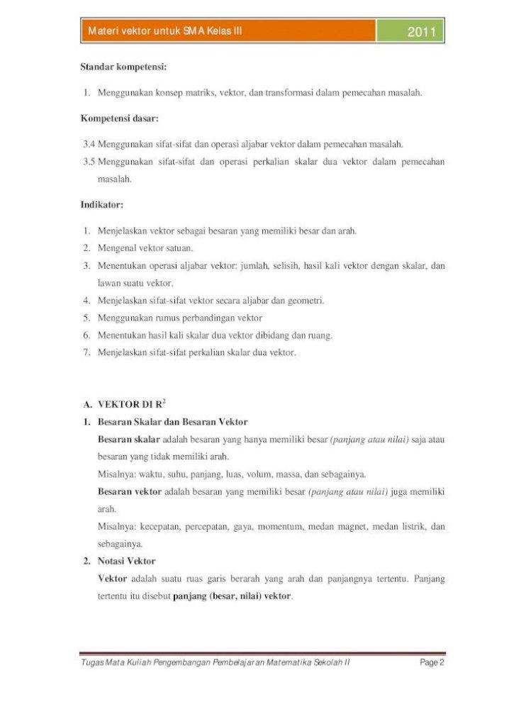 Makalah Vektor Pdf Document