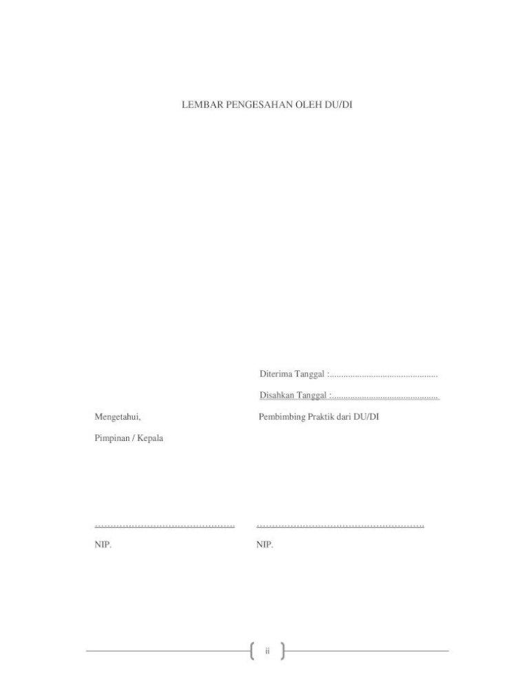 Laporan Prakerin Tkj Smk 17 Agustus 1945 Genteng Pdf Document