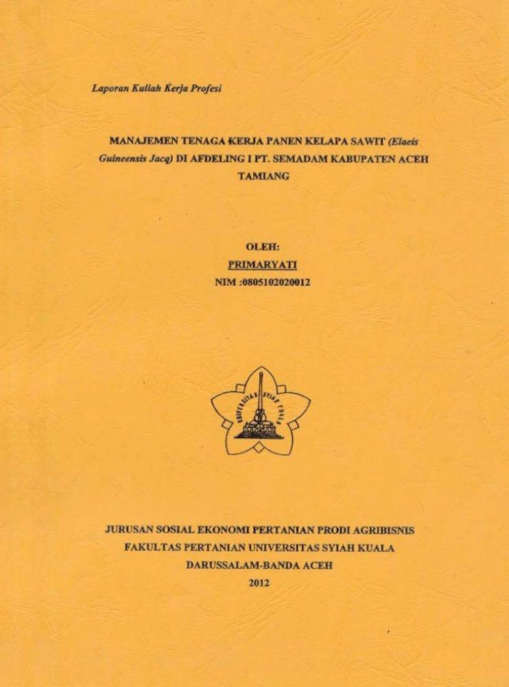 Laporan Kkp Primaryati Pdf Document